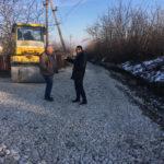 Mersul lucrărilor de reparație în variantă albă a mai multor străzi din Hâncești
