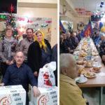 Masă de binefacere pentru 110 persoane nevăzătoare organizată de Primăria Hîncești
