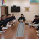 Polițiști din Polonia în vizită la Inspectoratul de Poliție Hâncești