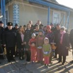 Caravana de Crăciun a Poliției Naționale a ajuns și în raionul Hîncești