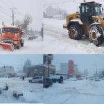 Peste 35cm stratul de zăpadă și situația la moment în Hîncești