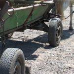 O căruță s-a tamponat într-un automobil în s.Crasnoarmeiscoe raionul Hîncești
