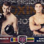 Igor Mosneguta și Costin Barba din Hîncești  obțin două victorii în Profesional Boxing Show