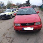 În Cărpineni o minoră a fost tamponată de un automobil