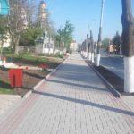 S-au finalizat lucrările de reparație a unei porțiuni de trotuar de pe strada M. Hîncu