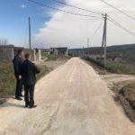 Lucrările de reparație în variantă albă a străzii Bucium din Hîncești s-au finalizat