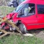 Accident pe traseul Chișinău-Leușeni !