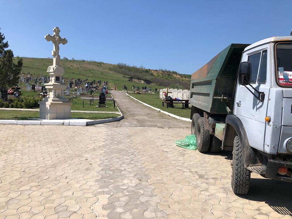 Acces liber și în cimitirile din municipiul Hîncești