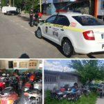 De la începutul sezonului cald  INP Hîncești a reținut 23 de motociclete la parcare