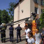 Atenție Cutremur ! simulări la LT. Mihai Eminescu din Hîncești