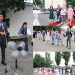 Alexandru Botnari care a absolvit și el L.T Mihai Eminescu prezent la Balul de Absolvire 2019