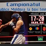 Campionatul Republicii la Box / Tineret se va desfășura la Hîncești în perioada 17-20 iulie
