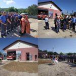 Un nou post voluntar de salvatori şi pompieri deschis la Mingir