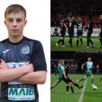 Alexandru Vlas la vârsta de 16 ani a debutat pentru Petrocub Hîncești