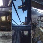 Incendiu în localitatea Onești din raionul Hîncești