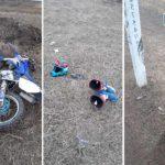 Accident mortal în preajma comunei Cărpineni ! Un motociclist a decedat
