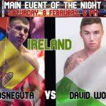 Hînceșteanul Igor Mosneguta va lupta în Irlanda cu David Wogan