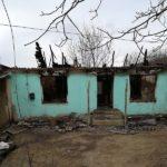 Incendiu în localitatea Ciuciuleni ! casa a ars în totalitate