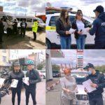 """IP Hîncești desfășoară campania """"10 zile de activități împotriva accidentelor în traficul rutier"""