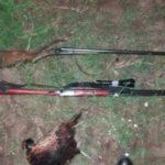 Doi bărbați au fost prinși că vânau ilegal în raionul Hîncești