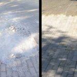 Pavajul deteriorat din parcul municipal Hîncești a fost restabilit