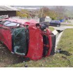 Accident pe strada A. Lăpușneanu din Hîncești