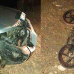 Accident la Pogănești motociclist în stare de ebrietate