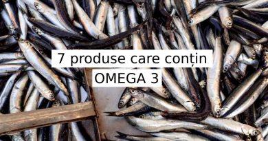 7 produse care conțin mult Omega-3